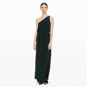 NWT Club Monaco Verlise Silk Maxi Dress